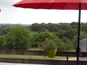 Terrasse orientée sud Ti Menez Are