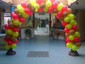 Hall d'entrée décoré