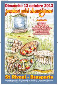fete des champignons Brasparts  2013 CPTDE