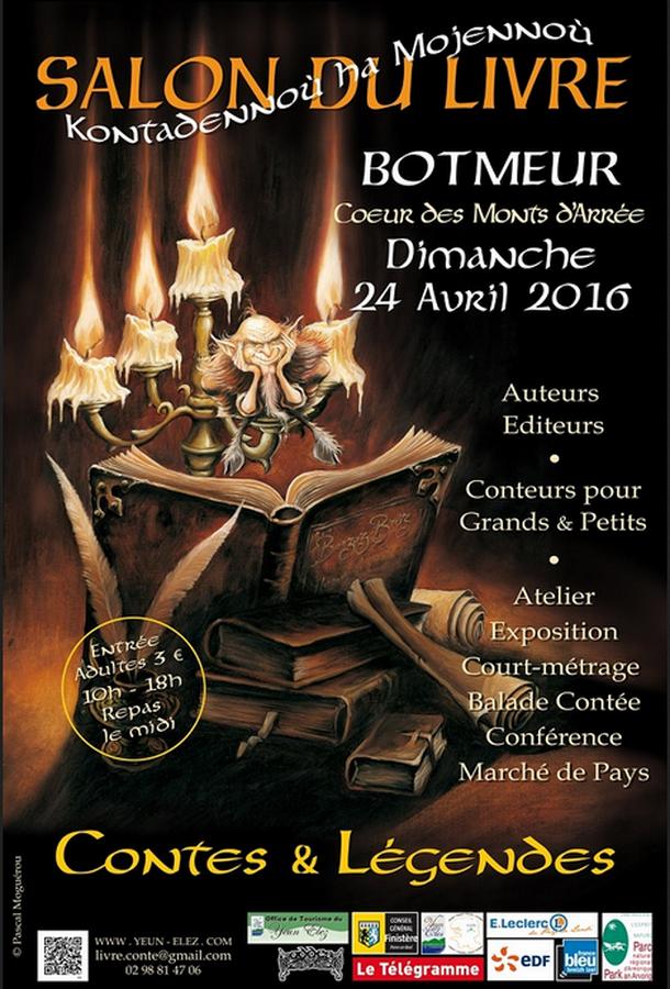 Salon du livre Contes et légendes à Botmeur